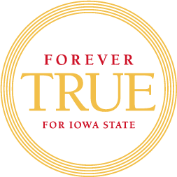 Forever True for Iowa State - campaign logo