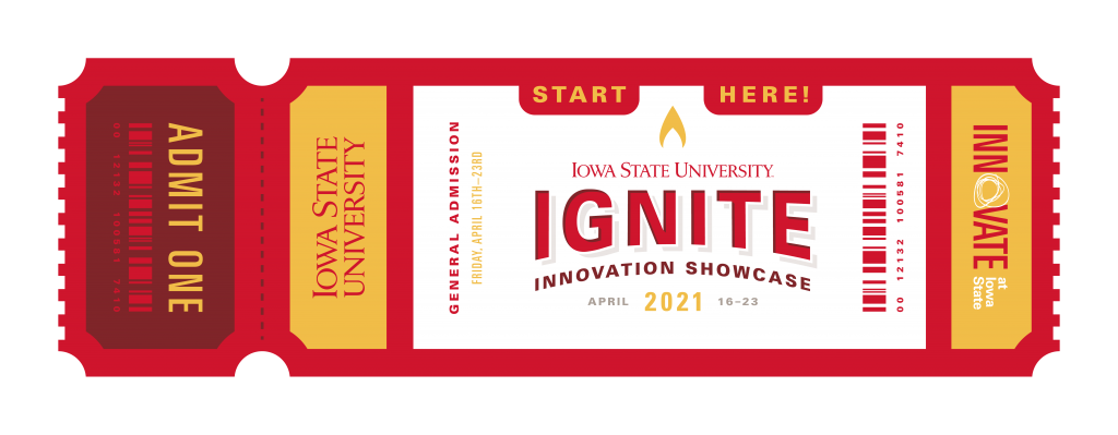 An invitation to register for the online Ignite Innovation Showcase